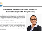 Executive Appointment - Yvette Sands