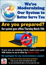 System Offline March 10, 2016