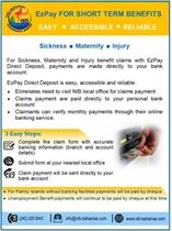 EzPay for Short term Benefits