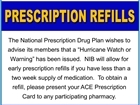 Prescription Refills NPDP