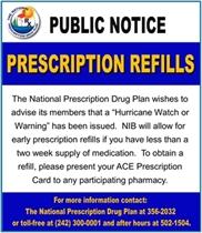 Prescription Refills NPDP