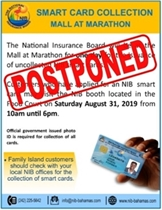 Smart Card Collection Postponed