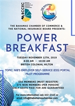 Power Breakfast NIB and BCCEC