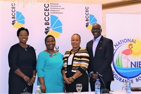 National Insurance Board at BCCEC Power Breakfast