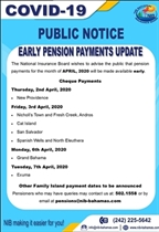 Early Pension Payments Update
