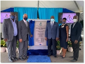 NAMING CEREMONY OF THE  ORVILLE A. TURNQUEST BUILDING